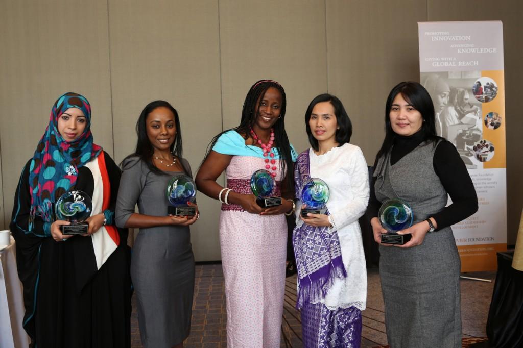 From left to right: Dr. Eqbal Mohammed Abdu Dauqan, Dr. Simone Ann Marie Badal McCreath, Dr. Taiwo Olayemi Elufioye, Dr. Leni Ritmaleni, Dr. Nilufar Mamadalieva.