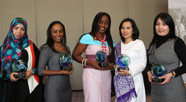 Women chemists from developing countries honored for research of natural medicinal compounds