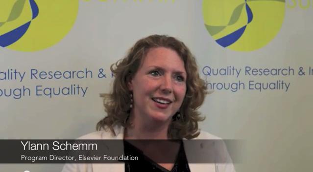 Gender Summit Ylann Schemm Interview