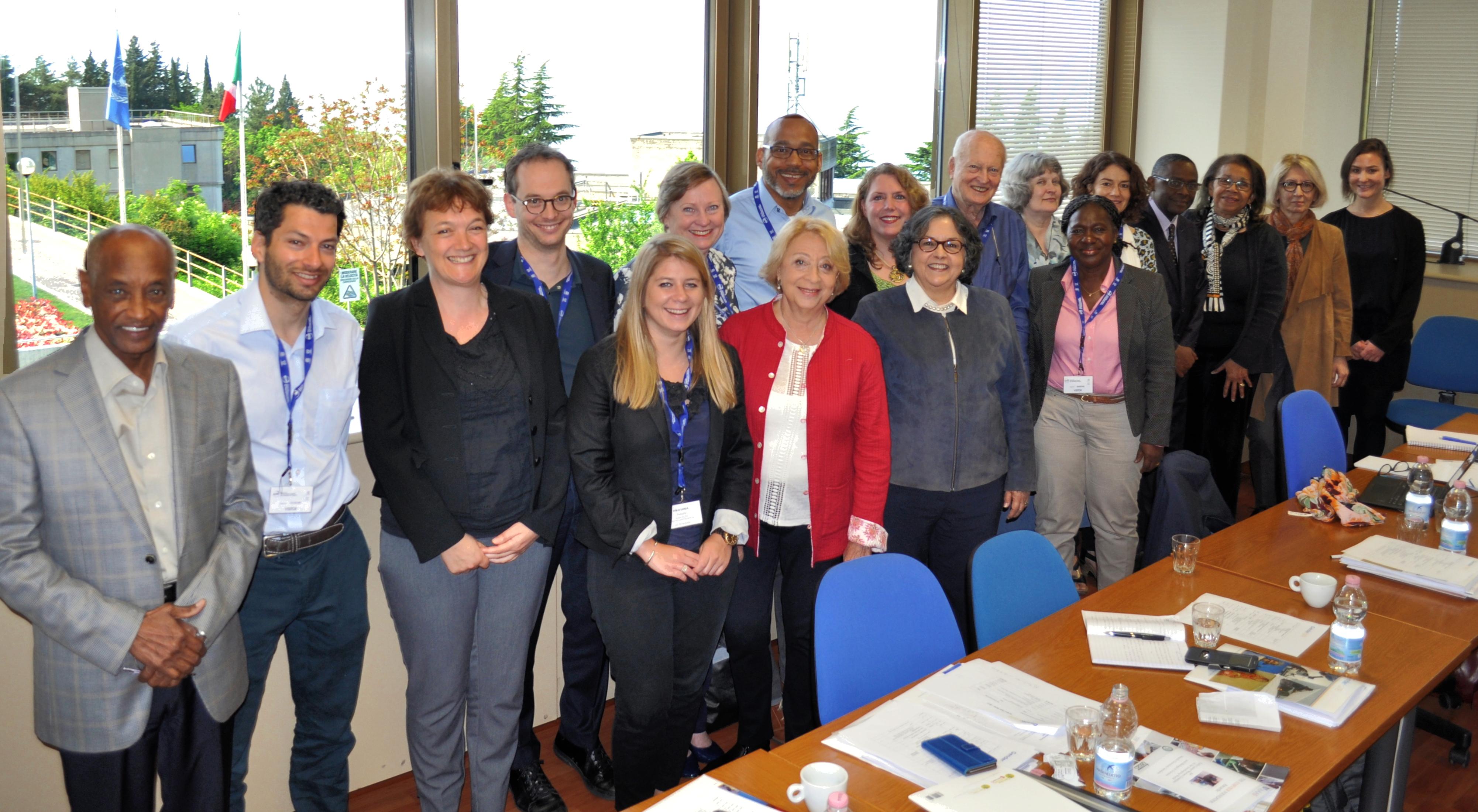 GenderInSITE Steering Committee members and partners at its April 2016 meeting in Trieste, Italy. / © GenderInSITE Secretariat