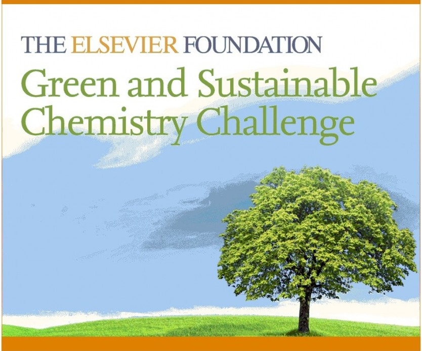 The Elsevier Foundation Green and Sustainable Chemistry Challenge