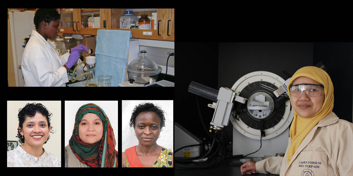 These are the 2018 winners of the OWSD-Elsevier Foundation Award for Early-Career Women Scientists in the Developing World. Learn more about them here – and meet them at AAAS.